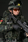 Chinese People's Armed Police Force Snow Leopard Commando Unit Team Member 中国人民武装特警部队 - 雪豹突击队 中队长