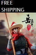 SONDER 1/6 scale figure Soldiers of Song Dynasty - Warrior of army Yue with spear and shield 宋朝第一弹 - 岳家军枪牌手 宋兵