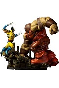 1/6 Marvel Comics - Wolverine vs Juggernaut Battle Diorama