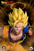 Dragon Ball Battle Series: SS2 Goku Vs Majin Vegeta