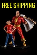 Shazam Art Scale 1/10 - By Ivan Reis