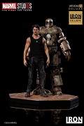 2018 EXCLUSIVE Tony Stark & Mark I Deluxe Art Scale 1/10