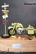 1/6 SCALE WII GERMANY MOTORCYCLE ZUNDAPP KS750 - SAND