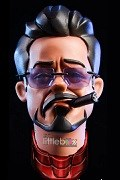 1/6 Scale Caricature Tony Stark Iron Man Head